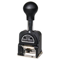Bates 9806450 Royall Black Pre-Inked Six-Wheeled Numbering Machine