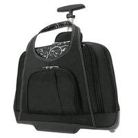 Kensington 62533 Contour Balance 18 inch x 9 inch Black Rolling Notebook Case
