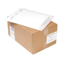 Jiffy 37714 TuffGard 10 1/2 inch x 16 inch Cushioned Self Seal #5 White Mailer - 25/Case