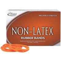 Alliance 37546 Non-Latex Assorted Size Orange #54 Rubber Band, 1 lb.