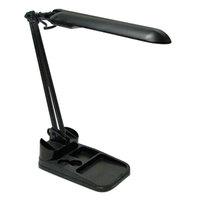 Ledu LEDL9103 17 inch Black Compact Fluorescent Flexible Organizer Lamp