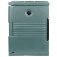 Cambro UPC400401 Ultra Pan Carrier Slate Blue Front Loading Insulated Food Pan Carrier