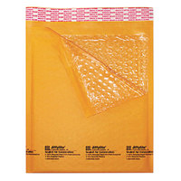 Jiffylite 16202 10 1/2 inch x 16 inch Self Seal #5 Kraft Mailer - 10/Pack