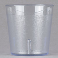 Cambro 900P2152 Colorware 9.7 oz. Clear Customizable Plastic Tumbler - 24/Case