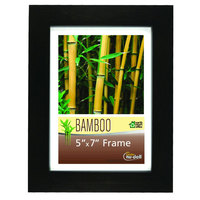 NuDell 14157 5 inch x 7 inch Black Bamboo Frame