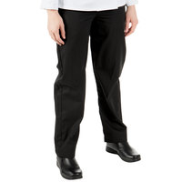 Mercer Culinary Millenia Women's Black Cook Pants - 1XL
