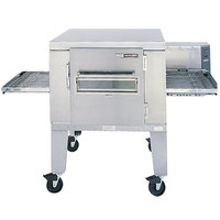 Lincoln Impinger 1 1400 Series 1400-1/1400-FB1 Natural Gas FastBake Single Belt Electric Conveyor Oven - 120,000 BTU
