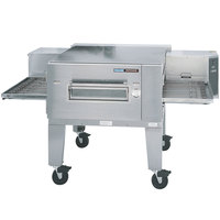 Lincoln Impinger 1600-1/1600-FB1 Natural Gas FastBake Single Belt Low Profile Conveyor Oven - 110,000 BTU
