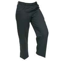 Mercer M60060BKS Millennia Women's 23 inch S Black Poly-Cotton Cook Pants