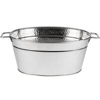 American Metalcraft HMDOB19149 Hammered Party Tub - 20 inch x 9 inch