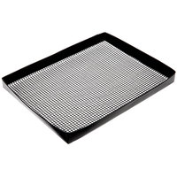 Baker's Mark 8 1/2 inch x 11 1/2 inch Loose Weave Non-Stick Mesh Basket