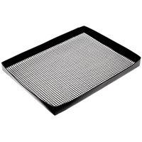 Baker's Mark 8 1/2 inch x 11 1/2 inch Loose Weave Non-Stick Mesh Basket
