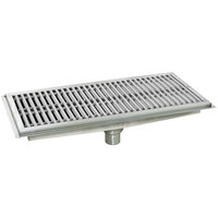 Eagle Group FT-2436-SG 24 inch x 36 inch Floor Trough with Stainless Steel Grating