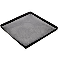 Solwave 13 1/2 inch x 13 1/2 inch Tight Weave Non-Stick Mesh Basket