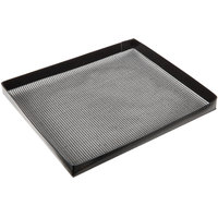 Baker's Mark 14 1/2 inch x 13 1/2 inch Tight Weave Non-Stick Mesh Basket