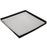 Baker's Mark 13 1/2 inch x 13 1/2 inch Loose Weave Non-Stick Mesh Basket