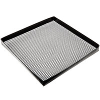 Baker's Mark 11 inch x 11 inch Loose Weave Non-Stick Mesh Basket