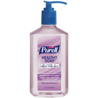 Purell 9703-12 Healthy Soap 12 oz. Fresh Botanicals Hand Soap with Pump - 12/Case
