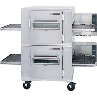 Lincoln Impinger I 1400 Series 1400-2/1400-FB2 FastBake Single Belt Electric Double Conveyor Oven Package - 240V, 3 Phase, 27 kW
