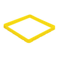Vollrath CRE-08 Traex® 49 Compartment Yellow Full-Size Closed Wall Extender