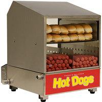 benchmark usa dog pound 164 dog 36 bun hot dog steamer 120v - Hot Dog Warmer