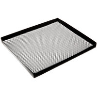 Baker's Mark 11 inch x 13 1/2 inch Loose Weave Non-Stick Mesh Basket