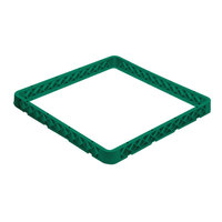 Vollrath CRH-19 Traex® 30 Compartment Full-Size Green Closed Wall Extender