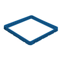 Vollrath CRJ-44 Traex 12 Compartment Full-Size Royal Blue Closed Wall Extender
