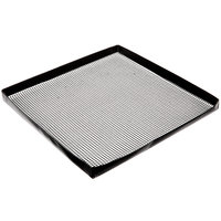 Solwave 13 1/2 inch x 13 1/2 inch Loose Weave Non-Stick Mesh Basket