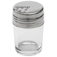 American Metalcraft GLADT2 2 oz. Clear Glass Contemporary Shaker with Adjustable Stainless Steel Dial Top