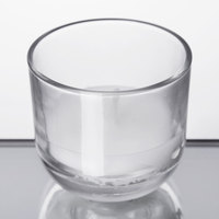 Sterno 40114 PetiteLites 8 Hour Clear Wax Filled Glass Candle - 24/Pack
