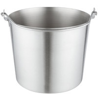 Vollrath 59150 16 Qt. Stainless Steel Utility Pail