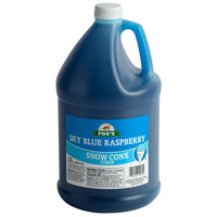 Fox's 1 Gallon Blue Raspberry Snow Cone Syrup