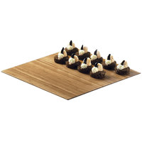 Cal-Mil 1481-12-60 12 inch Square Bamboo Tray