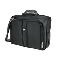 Kensington 62340 Contour Pro 17 1/2 inch x 8 1/2 inch x 13 inch Black Nylon Laptop Carrying Case