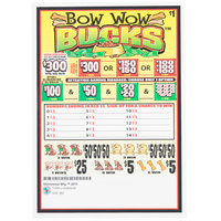 Bow Wow Bucks 5 Window Pull-Tab Tickets - 960 Tickets Per Deal - $685 Total Payout