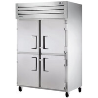 True STM2R-4HS-HC 54 inch Solid Half Door Reach-In Refrigerator