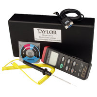 Taylor 9815A DigitalBattery-Operated K-Type Probe Thermocouple Thermometer Data Logger
