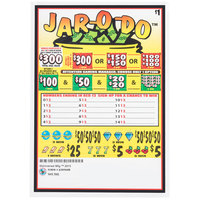 Jar-O-Do 5 Window Pull-Tab Tickets - 960 Tickets Per Deal - $685 Total Payout