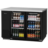 Turbo Air TBB-24-48SG-N Super Deluxe 49 inch Glass Door Narrow Back Bar Refrigerator