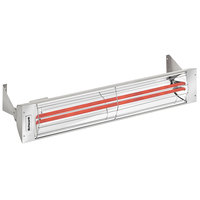 Schwank ES-5039-24 2 Stage Electric Stainless Steel Indoor/Outdoor Patio Heater - 240V, 5000W