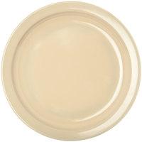 Carlisle KL20125 Kingline 7 1/4 inch Tan Sandwich Plate - 48/Case