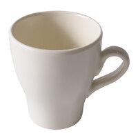 Elite Global Solutions D8C 8 oz. Antique White Melamine Mug - 6/Case
