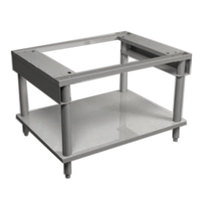 MagiKitch'n ZSTANDLEGS-60 60 inch x 26 1/2 inch Stainless Steel Equipment Stand with Undershelf