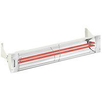 Schwank ES-5039-24 2 Stage Electric Biscuit Indoor/Outdoor Patio Heater - 240V, 5000W