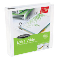 Wilson Jones 80280 White Oversized View Binder with 2 inch D-Rings
