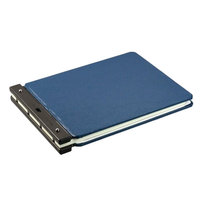 Wilson Jones 22665N Raven -Guarded 11 inch x 17 inch Light Blue Post Binder - 2 inch Capacity