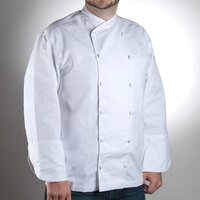 Chef Revival J006-S Chef-Tex Size 36 (S) Customizable Poly-Cotton Corporate Chef Jacket