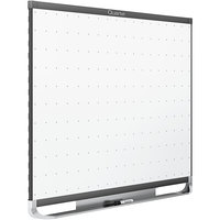 Quartet TE543GP2 36 inch x 24 inch Prestige 2 Total Erase Dry Erase Board with Grey Frame