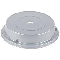 Cambro MDCPC9CW486 Camwear Camcover 9 1/8 inch Silver Metallic Low Profile Plate Cover   - 12/Case
